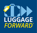 Luggage Forward Logo Golf Club Shipping