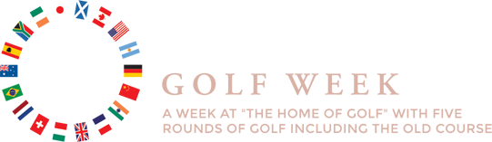 St Andrews Golf Week Logo